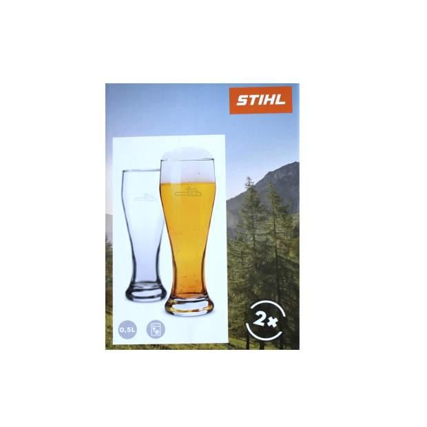 Stihl Biergläser Weizenbierglas 2er Set