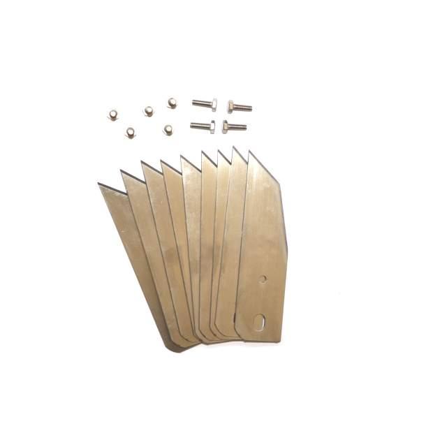 9 Stück Messerklinge Kompatibel für AL-KO Robolinho Mähroboter Ersatz-Messer