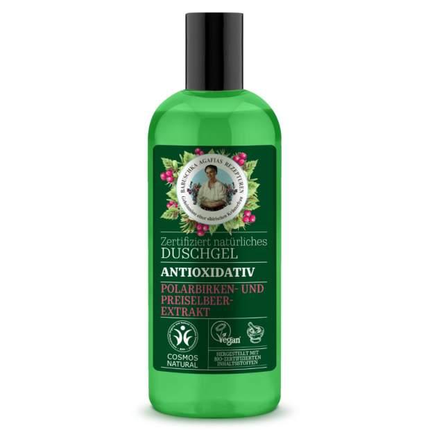 Duschgel Antioxidativ Preiselbeer-Extrakt und Polarbirken 260ml
