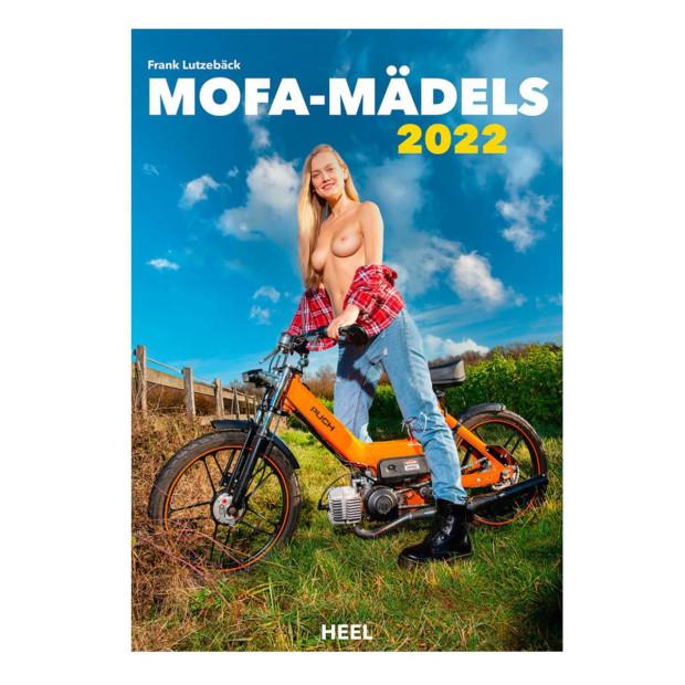 Erotikkalender Mofa Mädels 2022 inkl. Wandplaner 330 x 475 mm