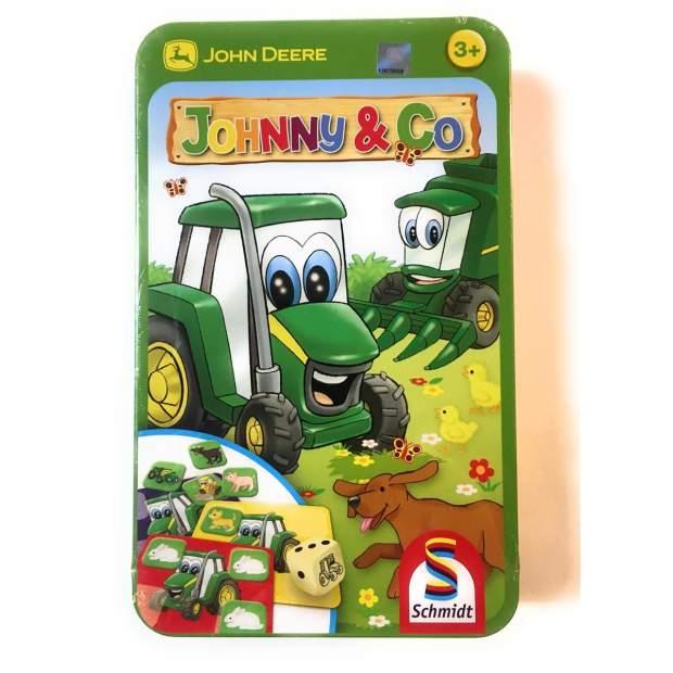 John Deere Johnny & Co, Kinderspiel, Familienspiel, Brett- und Würfelspiel, 3+