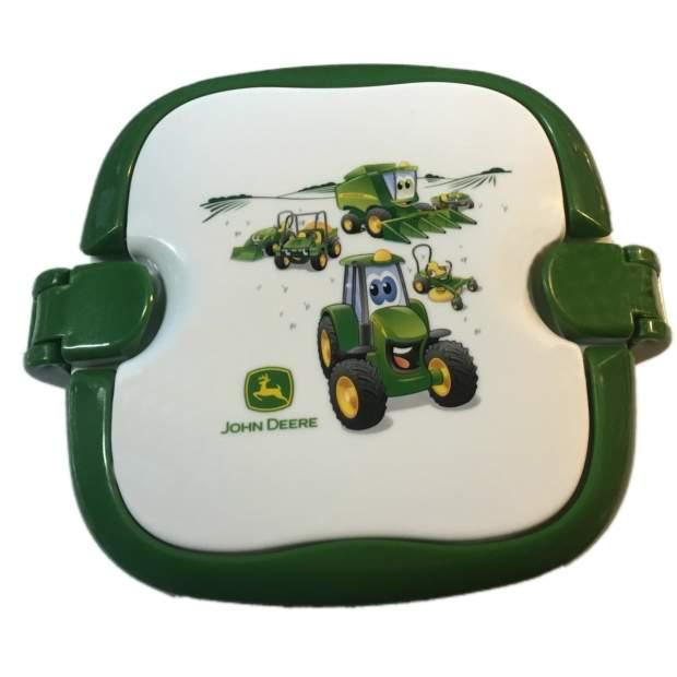John Deere Brotbox, Brotbüchse, Stullenbox, Obstbehälter, Nahrungsbehälter Grün