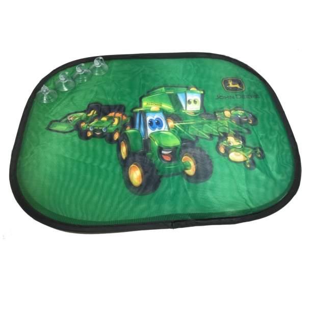 John Deere Kinder Auto-Sonnenschutz Set Sichtschutz Sonnenblende 2 Stück