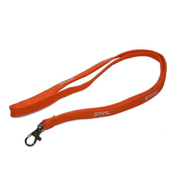 Stihl Schlüsselband Orange Lanyard Karabinerhaken