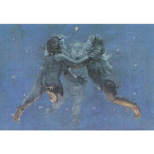 Postkarten Adventskalender Drei Engel