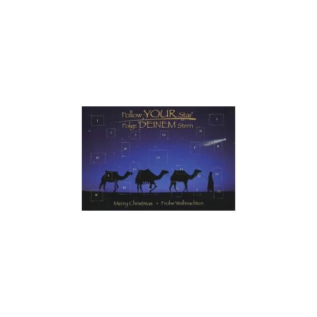 Postkarten Adventskalender Kamele