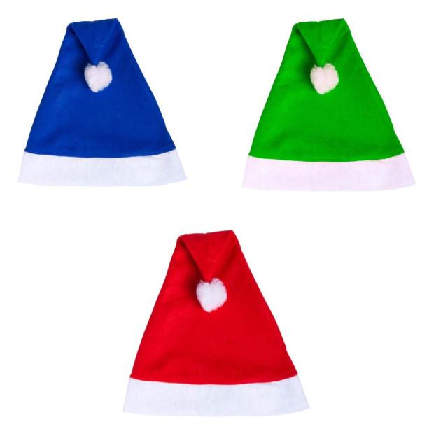 Weihnachtsmütze Bommel Weihnachtsmann Nikolausmütze
