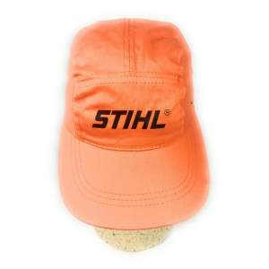 Stihl Golfmütze Base Cap Baseball Orange 100% Baumwolle