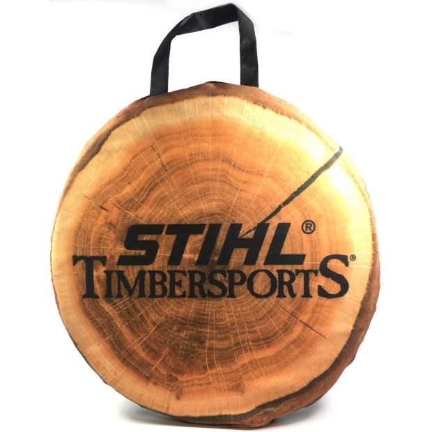 Stihl Sitzkissen Timbersports Holzscheibe Schaumstoff 34 cm