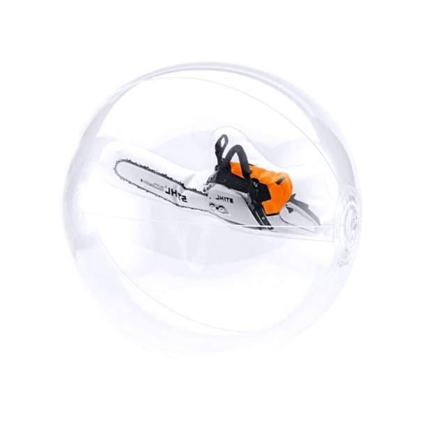 Stihl Wasserball Motorsäge 3D Strandball Ball Spiel Kinder