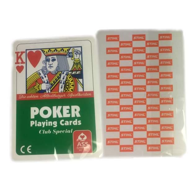 Stihl Kartenspiel Spielkarten Poker