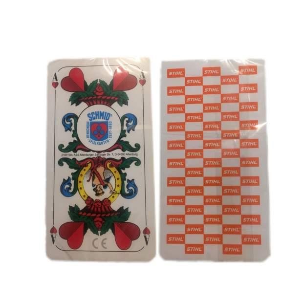 Stihl Kartenspiel Spielkarten Schafskopf
