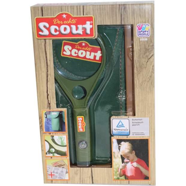 Scout Lupe mit Kompass und Tasche Kinder Set