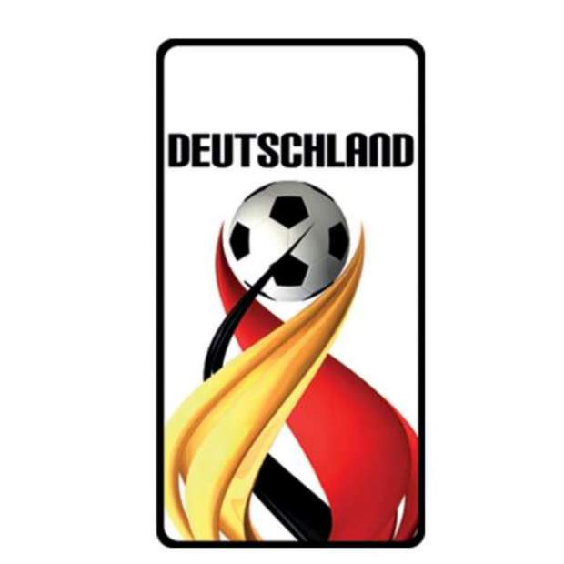 Deutschland Duftbaum  Fanartikel Weltmeisterschaft WM EM Motiv II (1 Stück)