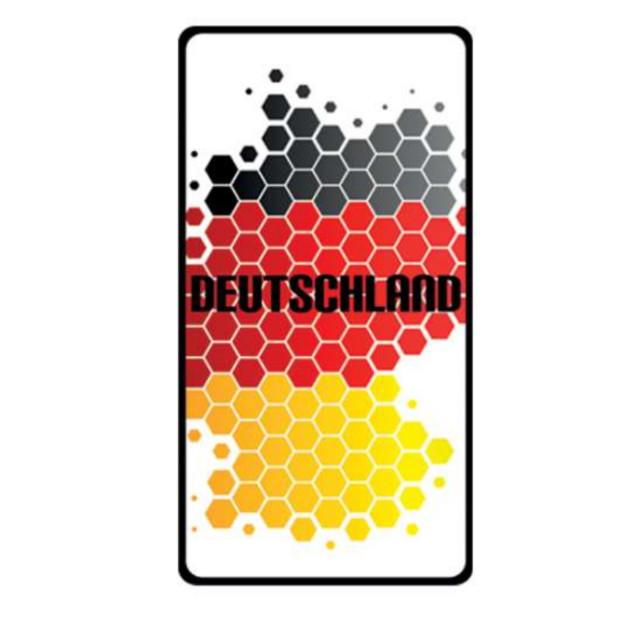 Deutschland Duftbaum  Fanartikel Weltmeisterschaft WM EM Motiv VIII (1 Stück)