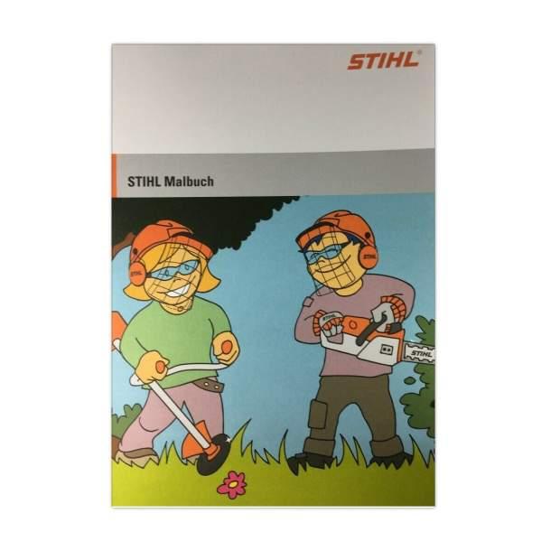 Stihl Malbuch A4 Kindermalbuch Lernbuch