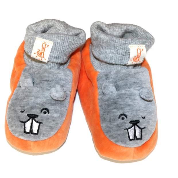 Stihl Baby-Schuhe Socken Motiv Biber Anti-Rutsch Gr. 17